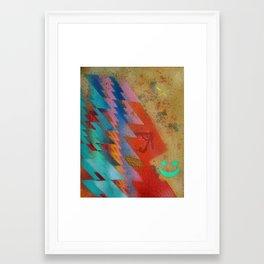 zigzagz  Framed Art Print