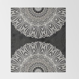 Mandala Mehndi Style G384 Throw Blanket