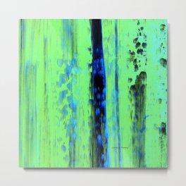 Gerhard Richter Inspired Urban Rain 2 - Modern Art Metal Print