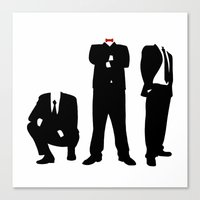 suits Canvas Prints featuring Suits by ChrisShirts