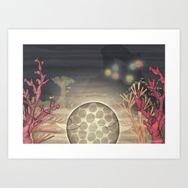 Little Moon – Family Art Print