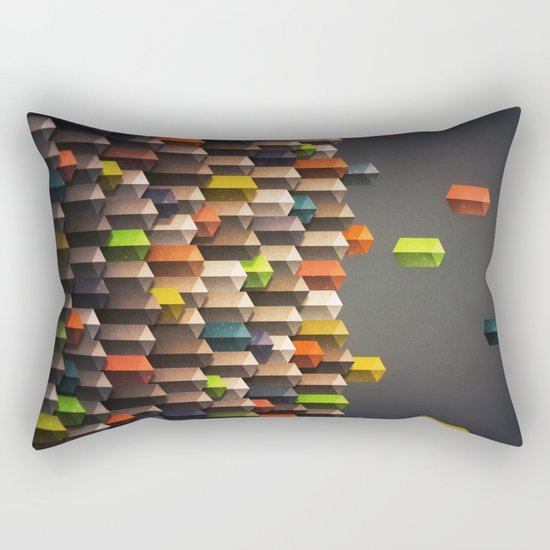 rise above Rectangular Pillow
