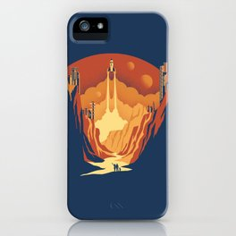 New World iPhone Case