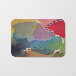 Abstract Mini #13 Bath Mat