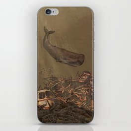 The Last Whale  iPhone Skin