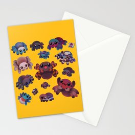 Tarantulas Stationery Cards