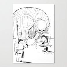 the big gourmand Canvas Print