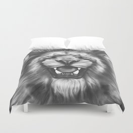 Courageous (Original drawing) Duvet Cover