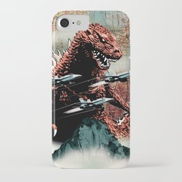 Godzilla Cover Art G-Fan Magazine iPhone Case