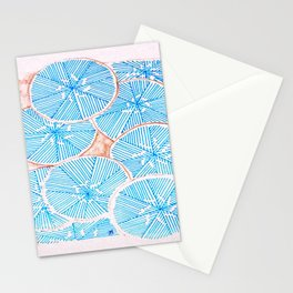 Frosted Flowers Stationery Cards