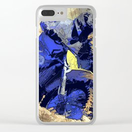 Digging In   -  Motocross Racer Clear iPhone Case