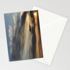 Sunset Over Lake Michigan Stationery Cards