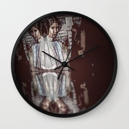 May The Force Be With Her Wall Clock