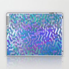 Endless Steps (purple-turquoise) Laptop & iPad Skin