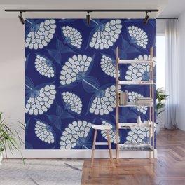 Royal Floral Motif Wall Mural