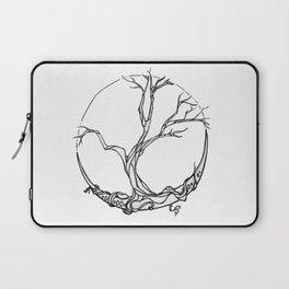 Moon tree Laptop Sleeve