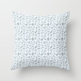 Cool Pattern Throw Pillow