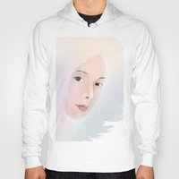 women Hoodies featuring women by wit_art