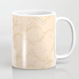 Kumori Nochi Sakura: Orange Coffee Mug