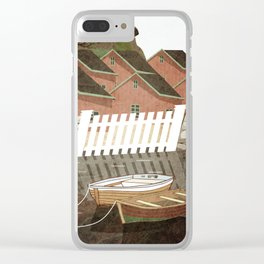 Norway 2 Clear iPhone Case