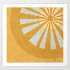 Sunshine. Art Print