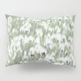 Pansy Field Floral Pattern II Pillow Sham