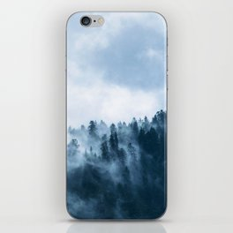 Atmospheric Fog over a Forest iPhone Skin
