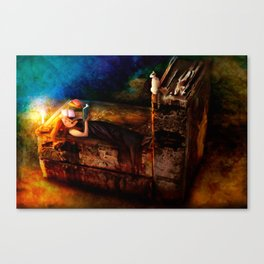 Ex Libris - A Book Lover's Dream Canvas Print