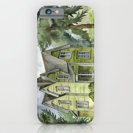 The Green Clapboard House iPhone Case