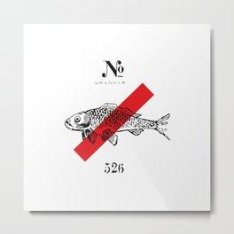 Fish No 526 Metal Print