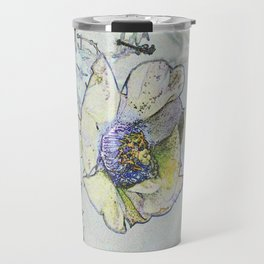Cacti Flower Drawing Travel Mug