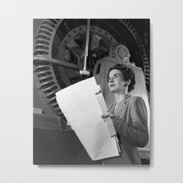 Kitty Joyner, Electrical Engineer Metal Print