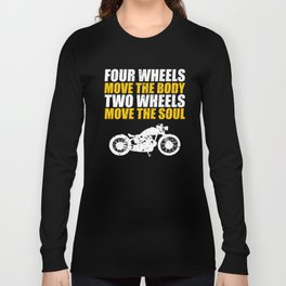 For Bikers Long Sleeve T-shirt