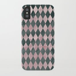 Marble Harlequin iPhone Case