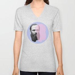 Fyodor Dostoevsky Unisex V-Neck