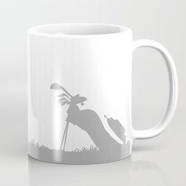 Father and Son playing golf Coffee Mug