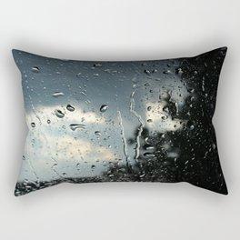Raindrops in Colorado Rectangular Pillow