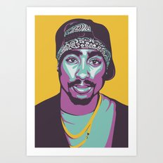 MR SHAKUR Art Print