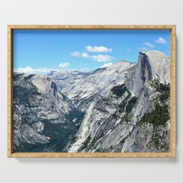Half Dome View Serving Tray