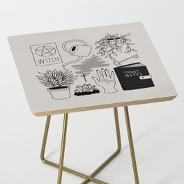 Witchy Treasures Side Table