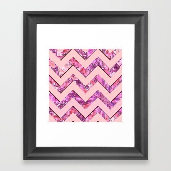 Girly Pink Framed Art Print