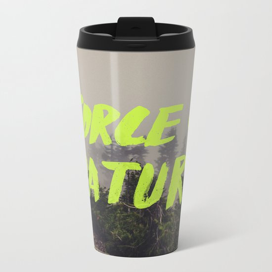 Force of Nature x Cloud Forest Metal Travel Mug