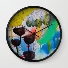 There is nothing better than bad weather Wall Clock