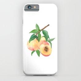 Peachy Peaches iPhone Case