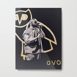 OVO owl Metal Print