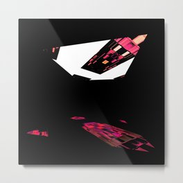 One Window in the darkroom Metal Print