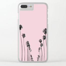 Palm trees 13 Clear iPhone Case