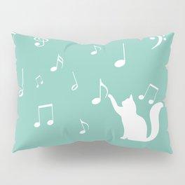 Cat music Pillow Sham