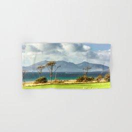 Isle of Arran from Portencross Ayrshire (2) Hand & Bath Towel