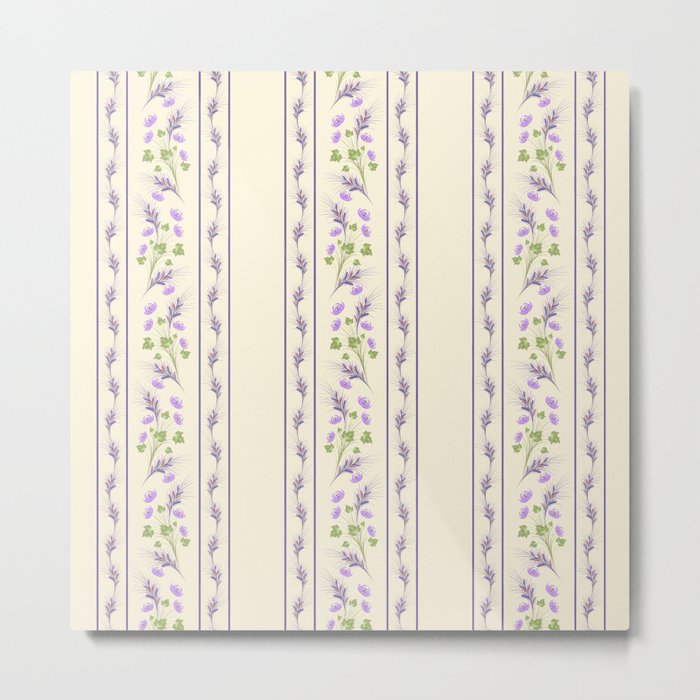 Delicate purple flowers. Metal Print